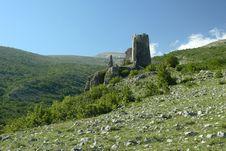 Free Castle Gradina In Croatia Stock Photography - 4249692
