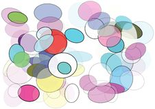 Optical Colors Royalty Free Stock Image