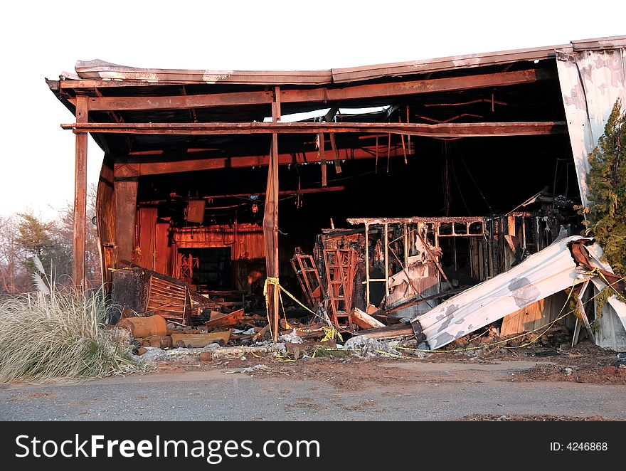 The destruction of fire 12