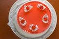 Free Tart With Cherries Royalty Free Stock Photo - 4250465