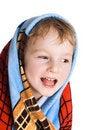 Free Kid In Bath Towel Royalty Free Stock Photos - 4257488
