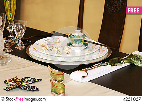 Asian table setting & Asian Table Setting - Free Stock Images \u0026 Photos - 4251057 ...