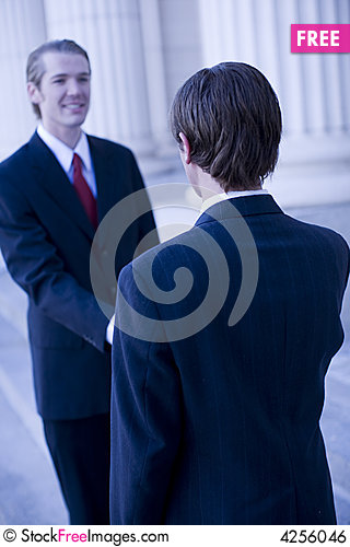 Free Business Handshake Royalty Free Stock Image - 4256046