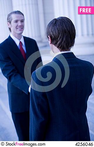 Free Business Handshake Royalty Free Stock Image - 4256046