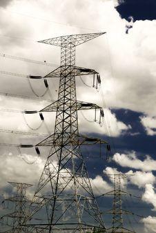 Electricity Yard 03 Stock Photos
