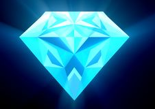 Diamond Rays Royalty Free Stock Photo