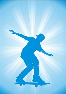 Free Skateboard Royalty Free Stock Photo - 4251745