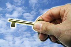 Free Key Of The Sky Royalty Free Stock Photo - 4252885
