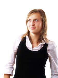Free Confident Young Business Woman Stock Photography - 4253272
