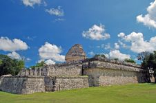 Free Ancient Mayan Observatory Stock Image - 4253461
