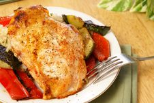 Free Broiled Pepper Chicken Stock Image - 4253681