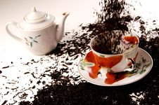 Free Black Tea Royalty Free Stock Photo - 4254365