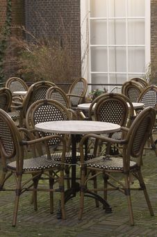 Free Cafe Terrace Royalty Free Stock Image - 4254986