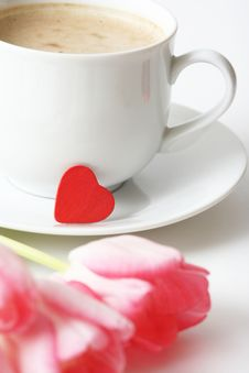 Free Valentine Coffee Royalty Free Stock Image - 4257146