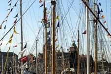 Free Masts Of Tall Ships Royalty Free Stock Photos - 4257198