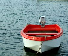 Free Red Boat. Royalty Free Stock Image - 4257216
