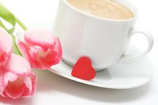 Free Valentine Coffee Royalty Free Stock Photos - 4257228