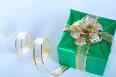 Beautifully Packed Gift Royalty Free Stock Photos