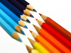 Free Pencils Royalty Free Stock Image - 4257856