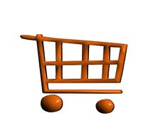 Free 3D Trolley Stock Photography - 4258372