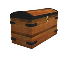 Free 3D Vintage Chest Stock Images - 4258394