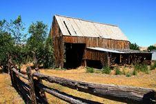 Free Hay Barn 4 Stock Photography - 4258512