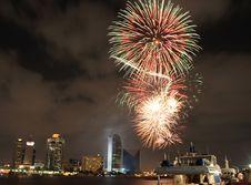 Free Fireworks Stock Image - 4258711