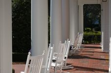 Free Rocking Chairs Royalty Free Stock Photography - 4259337