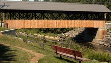 Free Covered Bridge Royalty Free Stock Photography - 4259377