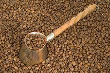 Free Turkish Coffee Pot. Royalty Free Stock Photos - 4259538