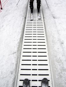 Free Ski Elevator Royalty Free Stock Photo - 4259635