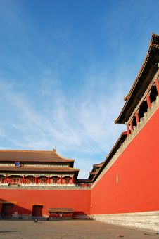 Free Front Gate, Forbidden City Royalty Free Stock Photography - 4259787