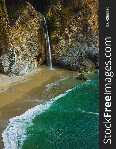 McWay Falls in Big Sur