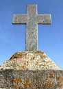 Free Marble Cross Stock Photo - 4262010