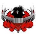 Free Stylized Dangerous Man Design Royalty Free Stock Images - 4265369