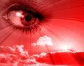 Free Red Eye Royalty Free Stock Photo - 4269725