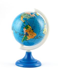 Free Small Terrestrial Globe Stock Photography - 4260242