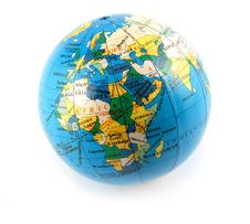 Free Small Terrestrial Globe Royalty Free Stock Photography - 4260257