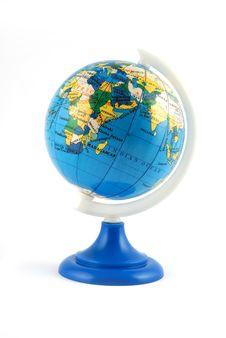 Free Small Terrestrial Globe Stock Photo - 4260310