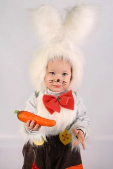 Free Bunny Girl Stock Photography - 4261542