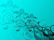 Free Floral Background Royalty Free Stock Images - 4261579