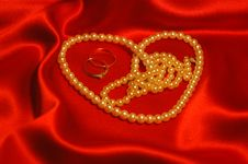 Free Perl Heart Royalty Free Stock Image - 4261886