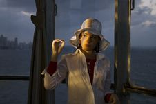Free Lady With Hat Stock Images - 4262584