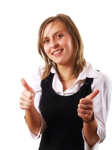 Free Thumbs Up ! Stock Photos - 4262633