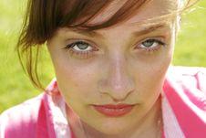 Free Closeup Beauty Royalty Free Stock Image - 4262696