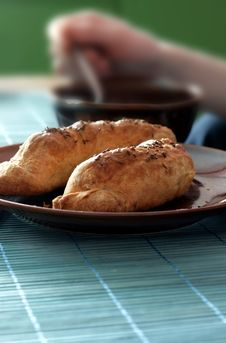 Free Sausage Baked In Shortcrust Pastry Stock Photo - 4263040