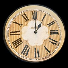Free Clock Face Royalty Free Stock Photography - 4263197