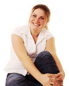 Free Smiling Girl Stock Image - 4263731
