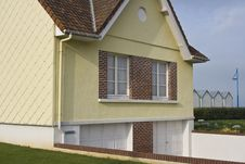 Free French Home Near Dieppe In France Royalty Free Stock Photo - 4264365