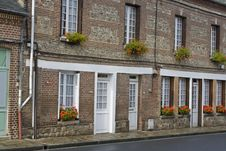 HIstoric French Homes Royalty Free Stock Image
